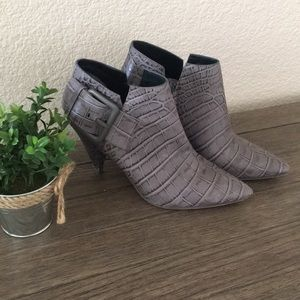 Sigerson Morrison Leather Booties